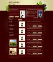Wine Template by GCORE by ArtistUnion