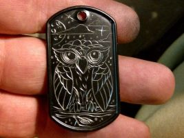 engraved dog tag by blksun
