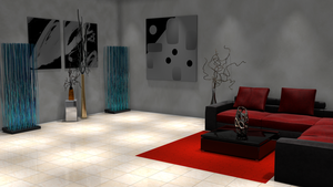 Indoor Spotlight Illumination For Daz3D by DecanAndersen