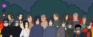 Clan Uchiha 2 by jimjimfuria1