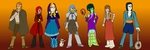 NaNoWriMo 2014 Cast by AngelAndChangeling