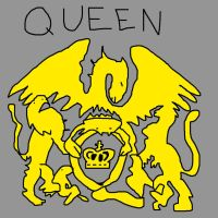 Queen's band logo by pewdie-pinkiepie