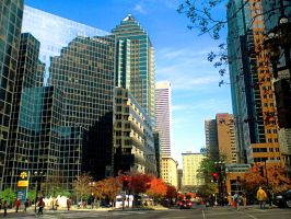 Downtown Montreal by Eriseda