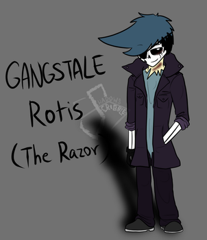 Gangstale leader Rotis by Scribbleshadows