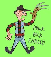 Punk Rock Krueger by LooneyLion