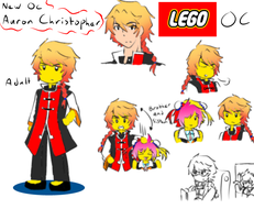 New Oc Lego Aaron Christopher by pikaiscoollll