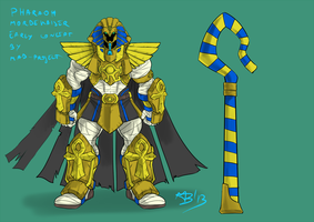 LOL original skin : PHARAOH MORDEKAISER by MAD-project