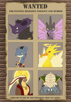 Johto's Most Wanted by Xatoga
