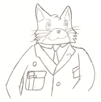 Major General Whiskers by Kevi-the-Eevee