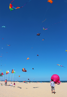 Kite Festival in Ocean City by VintageWarmth
