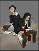 Altair and Malik by BlasticHeart