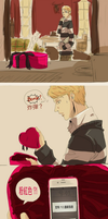 Translation_HAPPY VALENTINES DAY, JOHN. by aulauly7