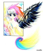Wings of Color by Irreeltal