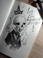 Long Live The EMPEROR ZOMBIE ! by willymerry