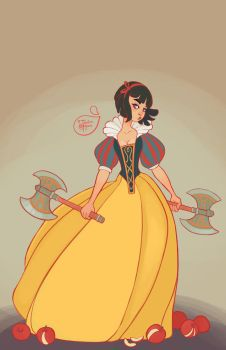Snow White by MeoMai
