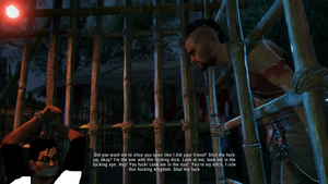 Vaas and Alex,front of Lara Croft in Far cry 3 by Hatredboy