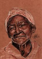 Old Woman by MHilgert