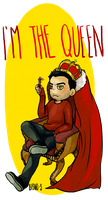 Teen Wolf - The Queen by Bisho-s