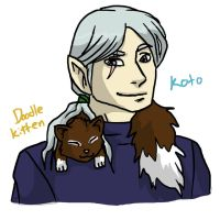 Koto and the Doodle Kitten by Doodlebotbop