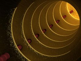 Abstract Tube 01 by zbyg