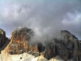 Clouds over Sella by edelweiss26