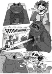 The Looter Issue #1 -PAGE #009- by FroginatorArt