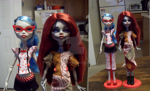 Ghoulia And Sally by tbdoll