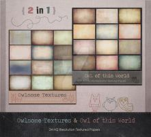 Digital Textures Paper Pack - 2 in 1 by DidiMoniH