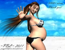 5000+ Views by PreggoBellyLover