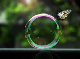 on a bubble by riana22