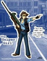 Girls' Team Fortress: Sniper Girl by TexasUberAlles