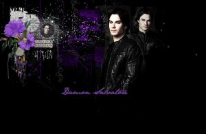 Damon Salvatore by Vee-Deviant