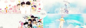 .140606. Pack cover TFBoys - COME TO SHOW YOU LOVE by Minta2k1