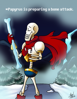 Papyrus, the Great by YourSuperHeroine