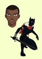 Black Panther (Shuri) by cspencey