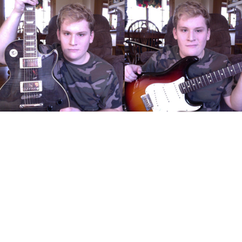 Which guitar do I look better with? by Jay-jutsu
