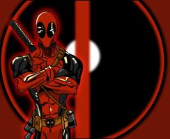 Deadpool Time by dimebagsdarrell