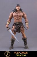 Pulp Serial:  Conan by sillof