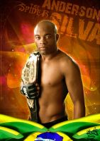 Anderson Silva by supermanisback
