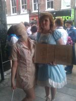 Silent Hill Nurse and FREE HUGS by CoolShazza