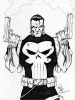 The Punisher by Locoduck