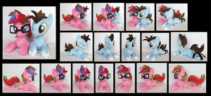 Talcom and Snow Flake by fireflytwinkletoes