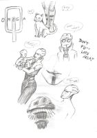 Aria T'Loak - Sketches by AMYisC0P1C