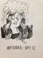 2016 - 10oct - Inktober (Day 12) by mosobot64