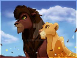 New king and queen by Right-here