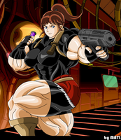 redfield milf women Maya is a playable character in borderlands 2, where she uses her mystical siren abilities to wipe out anyone who tries to harm her with blue hair and tattoos running down the length of her.
