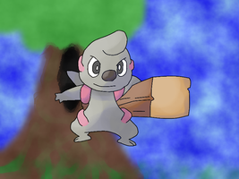 PARPG Timburr by fakemon123