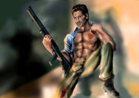 Shane Walsh by Frog27