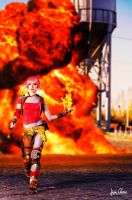 Lilith the Firehawk by Nebulaluben