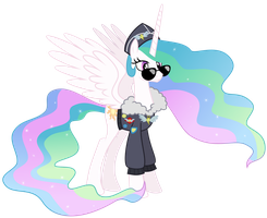 Celestia - Commander Easyglider costume by Magister39